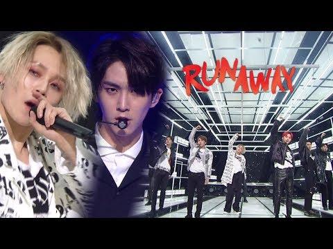 《Comeback Special》 PENTAGON(펜타곤) - RUNAWAY @인기가요 Inkigayo 20171126