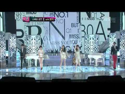 보아와 TOP10의 스페셜무대! @KPOPSTAR 20120429