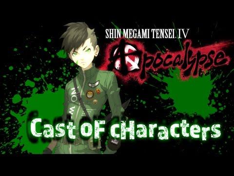 Shin Megami Tensei IV: Apocalypse Cast Trailer