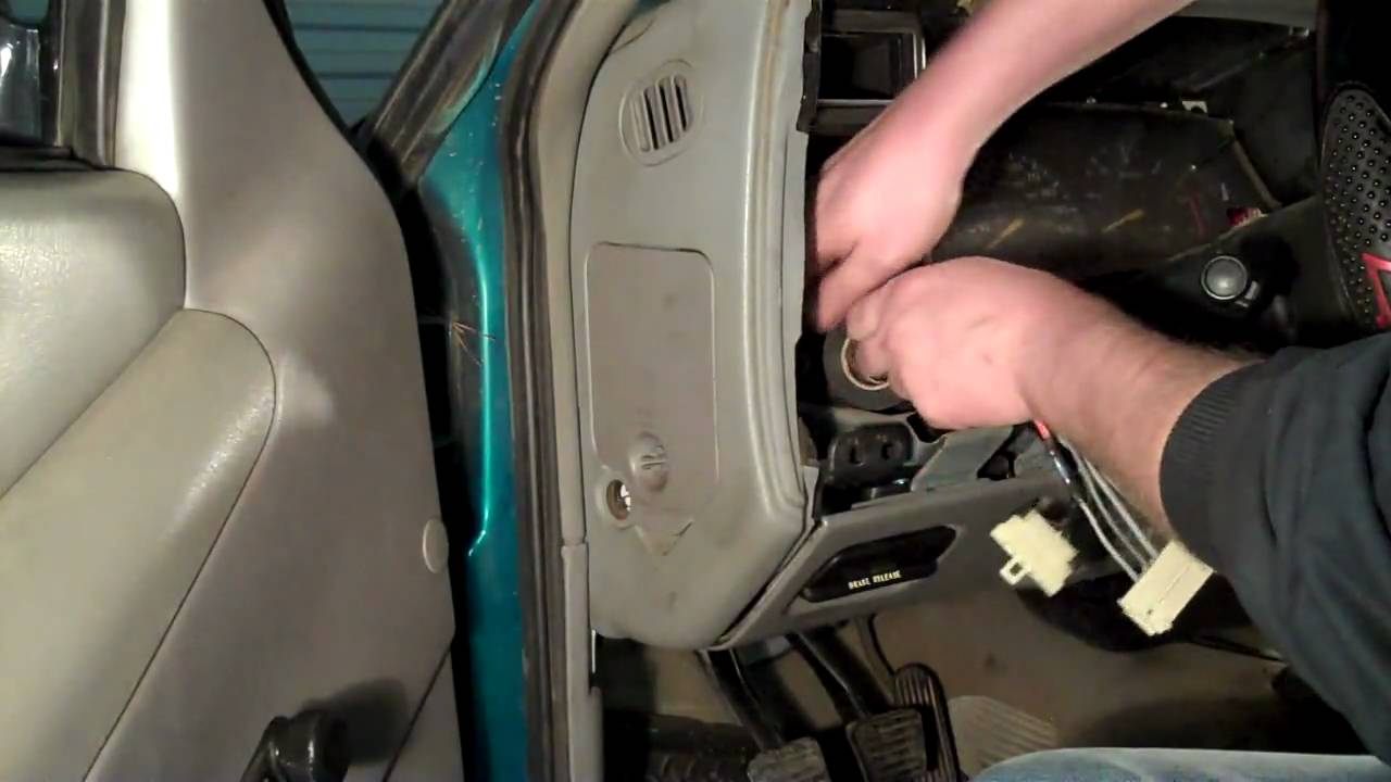 chevy s10 headlight switch wiring repair diy youtube. Black Bedroom Furniture Sets. Home Design Ideas