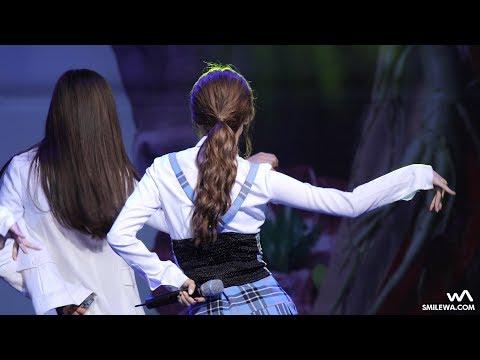 171019 에이프릴 (April) '손을 잡아줘' 나은 4K 직캠 @홍천 인삼 한우 명품축제 4K Fancam by -wA-