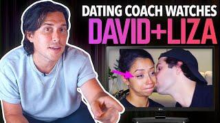 Dating Coach Reacts to DAVID DOBRIK + LIZA KOSHY