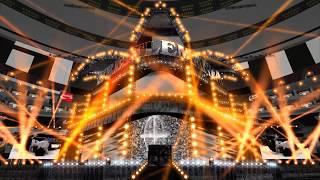 WWE WrestleMania 34 Seth Rollins Entrance Animation