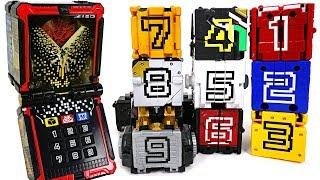 Power Rangers Doubutsu Sentai Zyuohger Animal Changer cube transform combine play - DuDuPopTOY