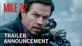 Mile 22 | Teaser Trailer | In Theaters August 3, 2018
