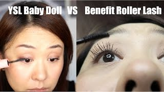 MASCARA COMPARISON | YSL Baby Doll VS Benefit Roller lash