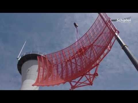Nieuwe radartoren op Schiphol