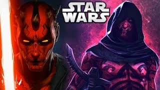 Why Darth Maul Never Used Force Lightning - Star Wars Explained