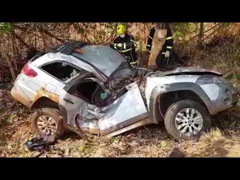 Nova Xavantina- Duas pessoas morrem em grave acidente na BR-158; Vídeo