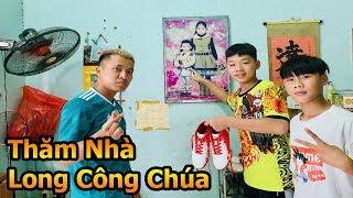 Đỗ Kim Phúc thăm nhà cầu thủ nhí Long Công Chúa cùng Quang Hải Nhí Duy Trung - Thử Thách Bóng Đá