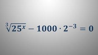 Eksponentna enačba 5