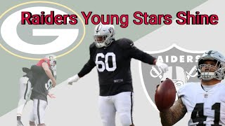 Oakland Raiders Vs. Packers | Most Impressive Players Recap