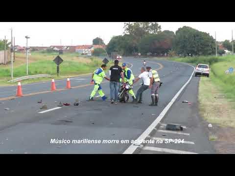 Músico mariliense morre em acidente na SP-294