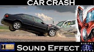 Car Crash Sound Effects ➡ Realistic Car Crash Sounds