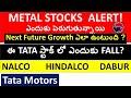 METAL STOCKS Future Growth? , TATA STEEL STOCK , NALCO STOCK, DABUR STOCK, TATA MOTORS STOCK