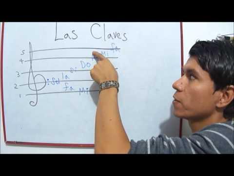 Las Claves de Sol y Fa Curso de Teoria musical y solfeo rezado. Clase 3 Diego Erley