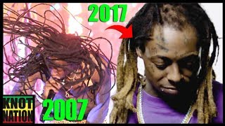 Evolution of Lil Wayne's BALD Dreadlocks (2002 - 2017)
