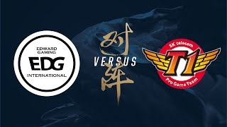 EDG vs. SKT | Group Stage Day 2 | 2017 World Championship | Edward Gaming vs SK telecom T1