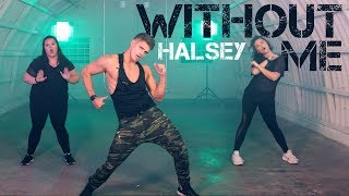 Without Me - Halsey   Caleb Marshall   Dance Workout