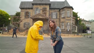 IT Knows What Scares You maze at Warner Bros. Studio Tour Horror Made Here A Festival of Frights
