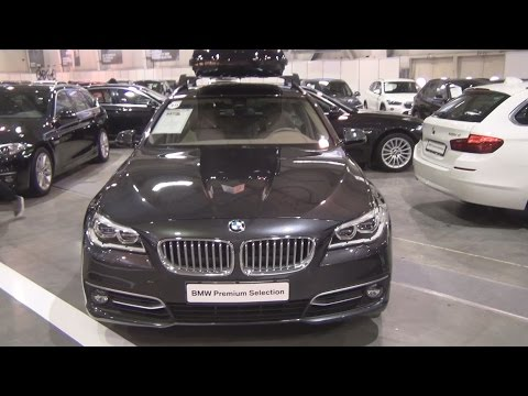BMW 525d xDrive Touring Sophisto Grey (2014) Exterior and Interior in 3D
