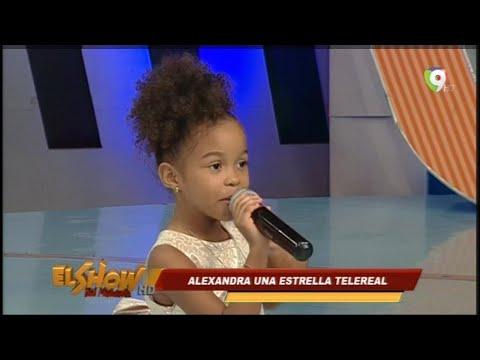 Conversando con Alexandra, la niña que encantó a JLO