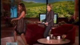 "Halle Berry dancing to ""She's Fine"" on Ellen"