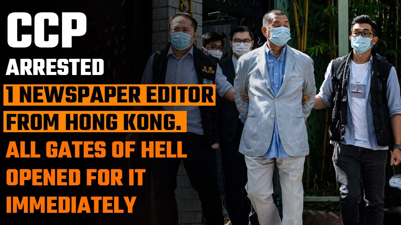 The CCP's arrest of Apple Daily's founder gloriously backfired