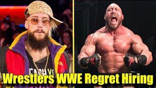 10 Wrestlers WWE REGRETS HIRING! - Enzo Amore, Ryback & More!