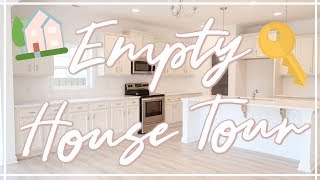 WE BOUGHT A HOUSE!!! | EMPTY HOUSE TOUR