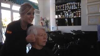 How to Style short hair by Amal  Hermuz-you tube