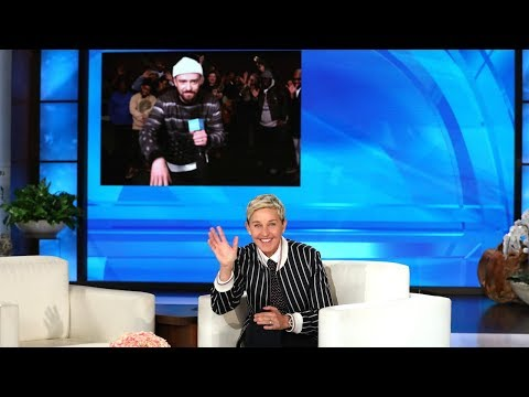 Justin Timberlake Surprises Ellen for Her Birthday!
