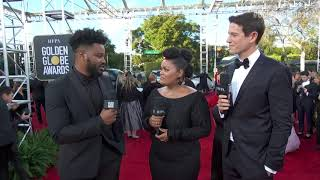 Ryan Coogler Red Carpet Interview - Golden Globes 2019