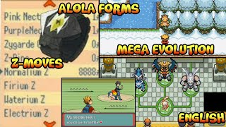 NEW POKEMON GBA ROM HACK with NEW REGION AND STORY 2018