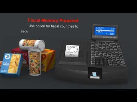 Electronic Cash Register | QMP2000