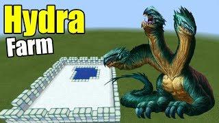 How to Make a HYDRA FARM   Minecraft PE