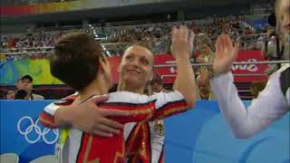 Oksana Chusovitina (GER) - 2008 Olympic Games - Uneven Bars Qualification