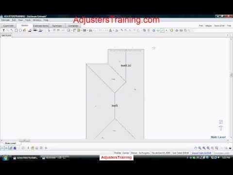Adjusterstraining Com Xactimate Video Tutorial Avi Youtube