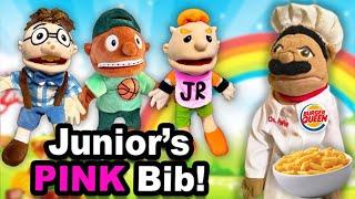 SML Movie: Junior's Pink Bib!