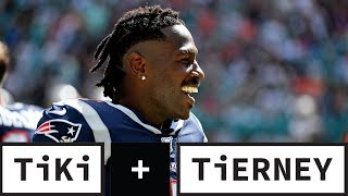 The Pats Should Have NEVER Gave Antonio Brown A Shot! | Tiki + Tierney