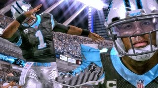 MADDEN 17 GAMEPLAY - CAM NEWTON DABBING IN NEW SHOES! New Features