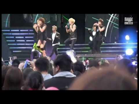 {Must Watch} {Part1} 2011 SHINee Mistakes & Unexpected Incidents compilation (Part 1 of 3)