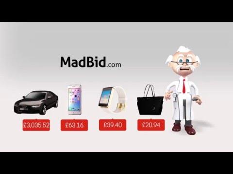 MadBid.com's Bargain Researcher  TV advert 2015