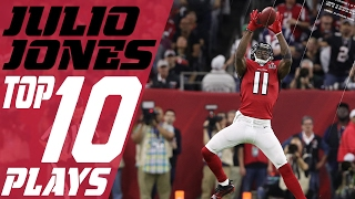 Julio Jones' Top 10 Plays of the 2016 Season | Atlanta Falcons | NFL Highlights