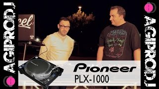 PIONEER DJ PLX-1000  Turntable in action