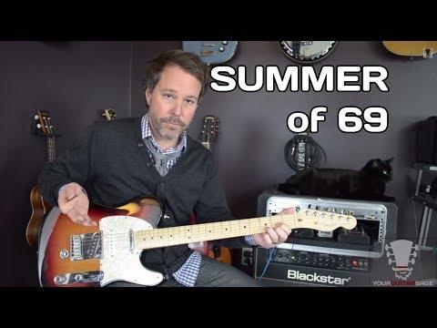 Baixar Summer of 69 by Bryan Adams Guitar Lesson