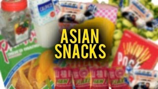 ASIAN SNACKS FROM YOUR CHILDHOOD | Fung Bros