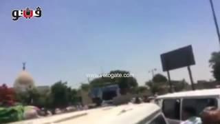 تشييع جثمان صفاء حجازي من quotالسيدة نفيسةquot     -