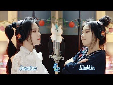 Aladdin & Jasmine - A Whole New World ( cover by J.Fla )