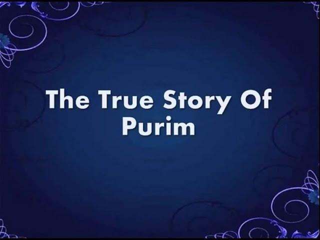 The True Purim Story Lyrics